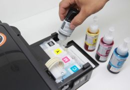 Como evitar vazamento de tinta dentro da impressora