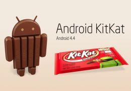 Android 4.4 KitKat é a mais recente atualização do Android