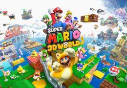 Super Mario 3D World, do Wii U, lembra Nintendo 64