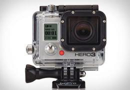 GoPro Hero 3 tem resolução 1080p e Wi-Fi integrado
