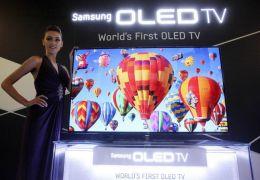"""Samsung TV OLED 55"""" chega ao mercado com tela curva"""
