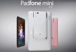 Asus lança Padfone Mini: um híbrido de tablet com smartphone