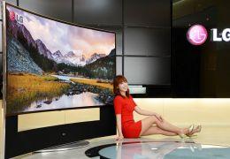 Samsung e LG anunciam TVs 4K de 105 polegadas