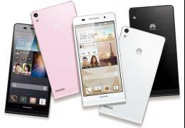 Huawei Ascend P6 - O Smartphone mais Fino do Mundo