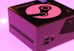 Gigabyte anuncia BRIX Pro Steam Machine na CES