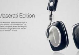 Maserati lança headphone em parceria com a Bowers & Wilkins