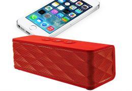 Caixa de som portátil oferece som de primeira para dispositivos com Bluetooth