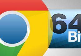 Google Chrome ganha versão 64 bits