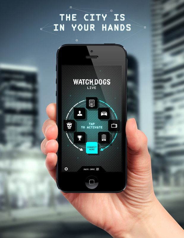Watch Dogs Phone App