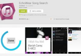 EchoWear: o aplicativo que identifica a música do ambiente