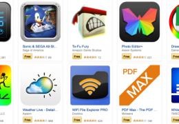 Amazon oferece 30 aplicativos gratuitos para Android