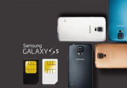 Samsung lança o Galaxy S5 dual chip