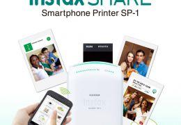 Instax Share: impressora que imprime diretamente do smartphone