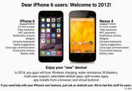 """""""Usuários do iPhone 6, bem-vindos a 2012"""". Entenda!"""