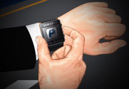 Samsung projeta relógio com sistema de pagamento