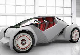 Nasce primeiro carro fabricado com impressora 3D