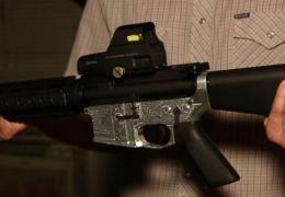 Impressora 3D faz rifle AR-15 de metal