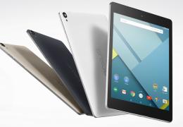Google Nexus 9 é anunciado oficialmente