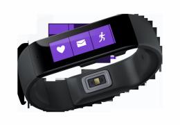 Microsoft lança a pulseira inteligente Band