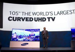 Samsung lança maior TV Ultra-HD do mundo