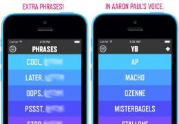 "Aaron Paul lança o aplicativo ""Yo, Bitch"" para iOS"