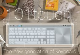 101touch: Mais recente novidade em teclado touchscreen