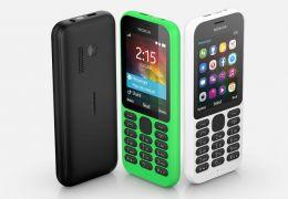 Microsoft lança Nokia 215 por apenas R$ 79