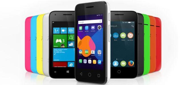 Alcatel lança smartphone com 3 sistemas operacionais