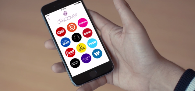 """Snapchat lança recurso """"Discover"""""""