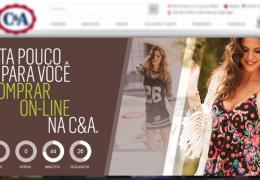 C&A lança site para vendas online