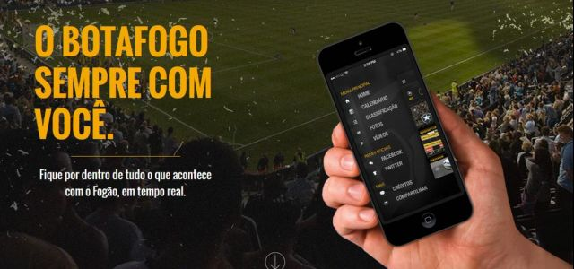 Botafogo lança aplicativo para torcedores