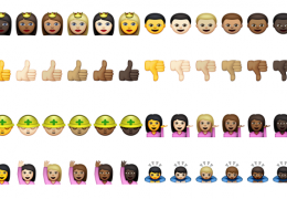Apple aposta em Emojis com diversas etnias