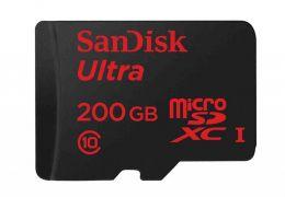 Sandisk lança cartão de memória com 200 GB para smartphones