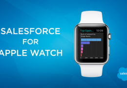 Salesforce lança ferramentas para Apple Watch