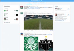 Twitter lança timeline especial para o Brasileirão