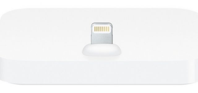 Apple lança dock para novo padrão de carregadores