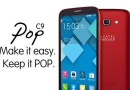 Alcatel Onetouch lança phablet POP C9