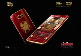 Samsung lança Galaxy S6 versão Homem de Ferro