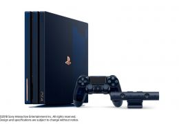 Sony apresenta edição limitada do PS4 Pro
