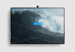 Microsoft divulga vídeo com o Surface Hub 2 funcionando