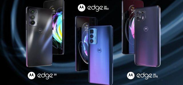 Motorola começa vender Edge 20 no Brasil