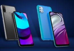Novos telefones Moto E20 e G20 chegam ao Brasil
