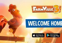 Farmville marca seu retorno para os dispositivos móveis