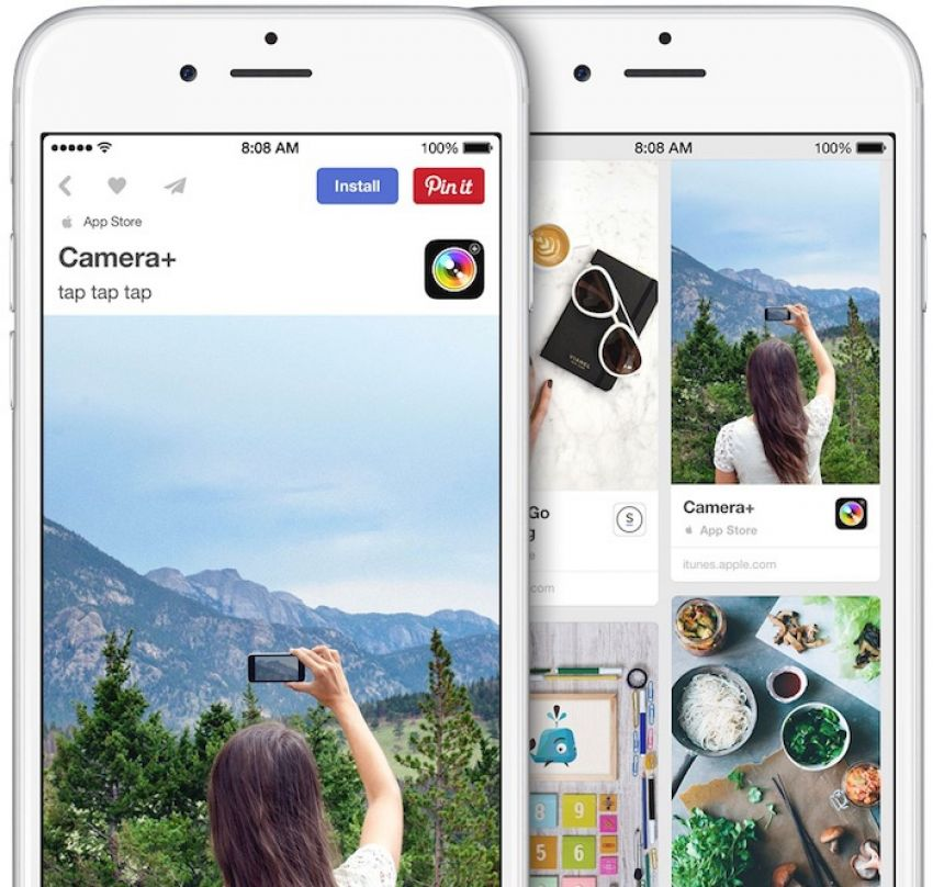 Pinterest lança o App Pins para iPhone