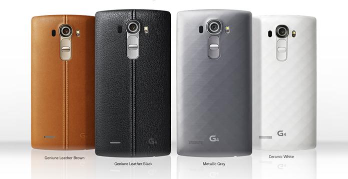 LG Lanca O Smartphone G4