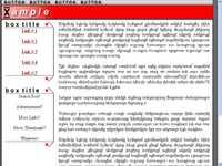 Layout HTML - 100